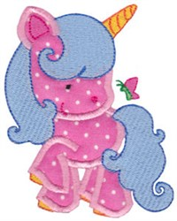 Magical Unicorn embroidery design