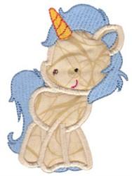 Applique Unicorn embroidery design