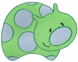 Polka Dot Bug embroidery design
