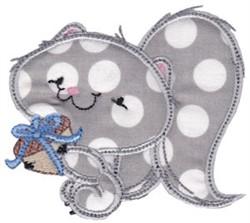 Applique Squirrel embroidery design