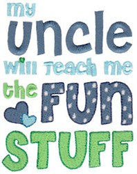 Uncle Fun Stuff embroidery design