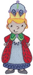 Prince Boy embroidery design