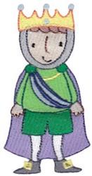 Royal Boy embroidery design