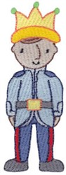 Prince Kid embroidery design