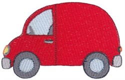 Red Van embroidery design
