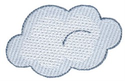 Cloud embroidery design