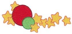 Ball & Jacks embroidery design