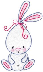 Peter Cottontail embroidery design