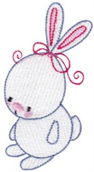 Easter Bunny embroidery design