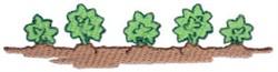 Carrot Garden embroidery design