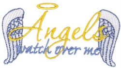 Angles Watch embroidery design