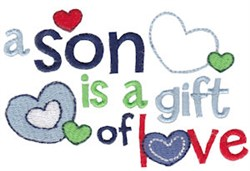 Son Is A Gift embroidery design