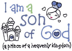 Son Of God embroidery design