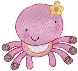 Spider embroidery design