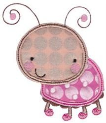 Applique Bug embroidery design