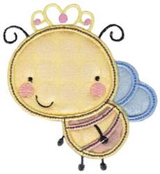Applique Bumble Bee embroidery design