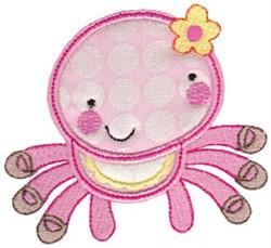 Applique Spider embroidery design