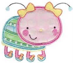 Applique Beetle embroidery design