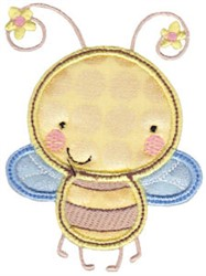 Honey Bee Applique embroidery design
