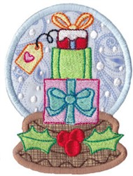 Snowglobe Gifts embroidery design