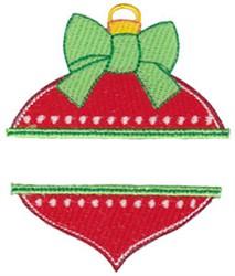 Split Ornament embroidery design