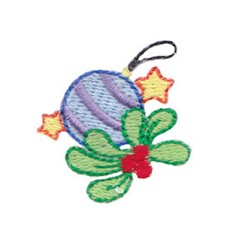 Christmas Ornament embroidery design