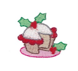 Mini Christmas Cake embroidery design