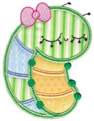 Bug Applique embroidery design
