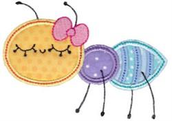 Adorable Ant Applique embroidery design