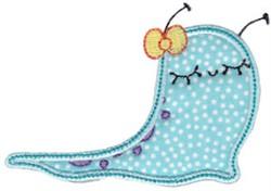 Applique Slug embroidery design