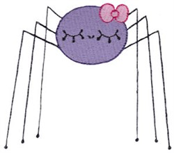 Adorable Spider embroidery design