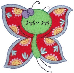 Adorable Butterfly embroidery design