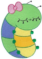 Adorable Bug embroidery design