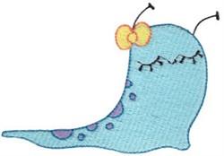 Adorable Slug embroidery design