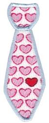 Valentines Day Tie embroidery design