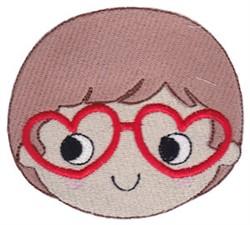 Valentines Day Boy embroidery design