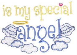 My Special Angel embroidery design