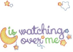 Watching Over Me embroidery design