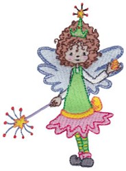 Dainty Tooth Fairy embroidery design