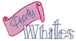 Pearly Whites embroidery design