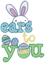 Ears To You embroidery design