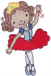 Ballet Cutie embroidery design