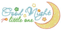 Good Night Little One embroidery design