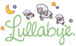 Lullabye embroidery design