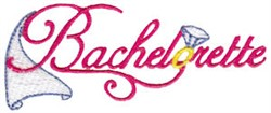 Bachelorette Party embroidery design
