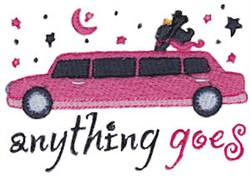 Anything Goes embroidery design