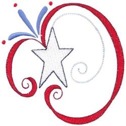Patriotic Swirls embroidery design