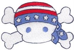 All American Pirate embroidery design