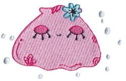 Decorative Clam Shell embroidery design