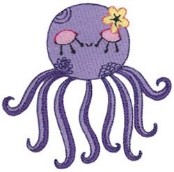 Decorative Octopus embroidery design
